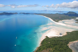 One of the world's most beautiful beaches - Whitehaven Beach